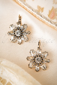 Make It Sparkle Earrings Années 50