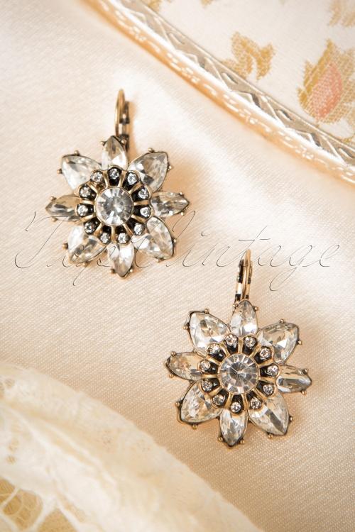 Lola Crystal Flower Earrings 311 91 16662 20150924 06W