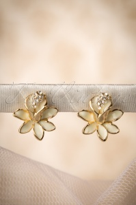 50s Sweet Lily Earrings