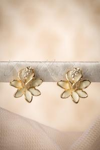 50s Sweet Lily Earrings