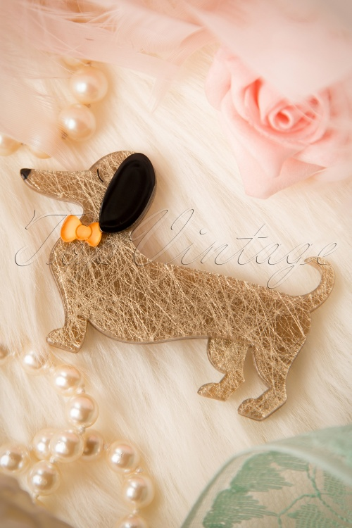 Erstwilder Little Dog Brooche 340 52 16980 20151005 05W
