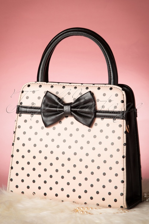 Banned Carla Retro Polkadot Vintage Style Handbag