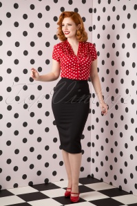 50s Joni Skirt in Black
