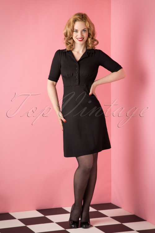 King Louie Black Diner Dress 12474 20151008 003W