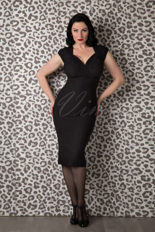 Stop Staring! Harmosa Pencil Dress Black 100 10 16343 20150925 0003 WM