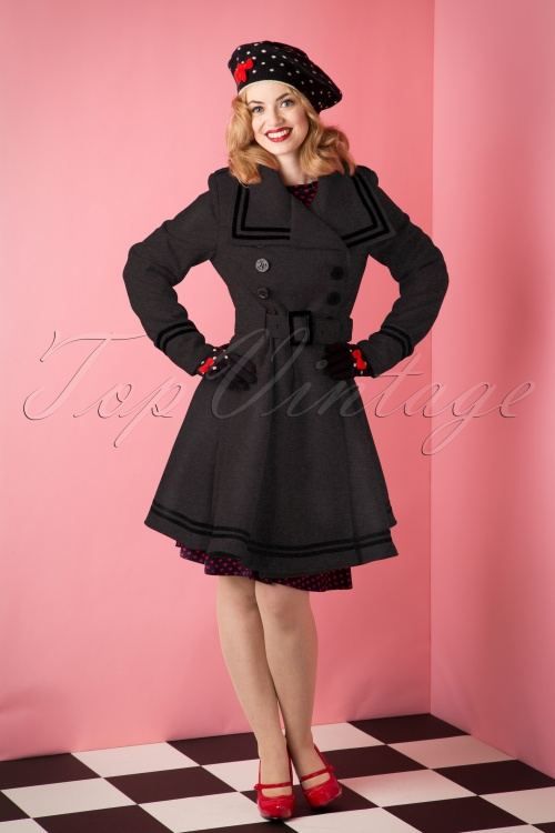 Bunny Red Coat Black Striped 152 20 10955 20151008 001B Corine