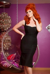 Jessica Pencil Dress Black