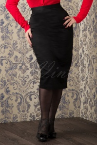 Bunny 50s Frankie Skirt in Black 120 10 10938 20151016 393VW
