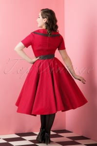 Bunny Purple Black Dotted Swing Dress 102 27 16751 20151016 781