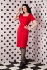 Hulahup Follow Pencil Dress Red 100 20 16381 20150925 0003 WM