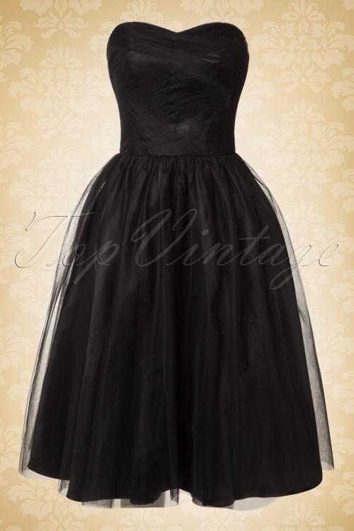 Bunny Tamara Black Mesh Dress 102 10 16748 20151019 0004W
