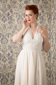 Bunny White Cream Marylin Monroe Swing Dress  102 51 16767 20151016 691W