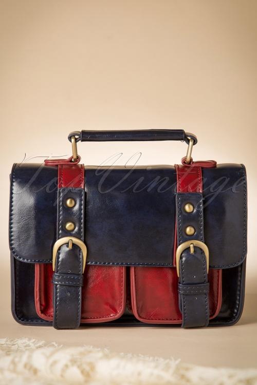 Banned Leila Handbag Navy 212 31 1703910212015 05W