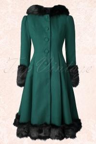 Bunny Elvira Teal Faux Fur Wintercoat 152 20 16727 20150921 0011