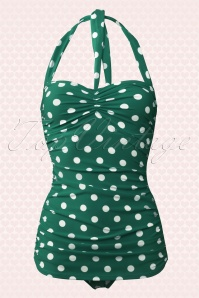 Esther Williams Classic Polkadot Swimsuit 161 49 16935 1W