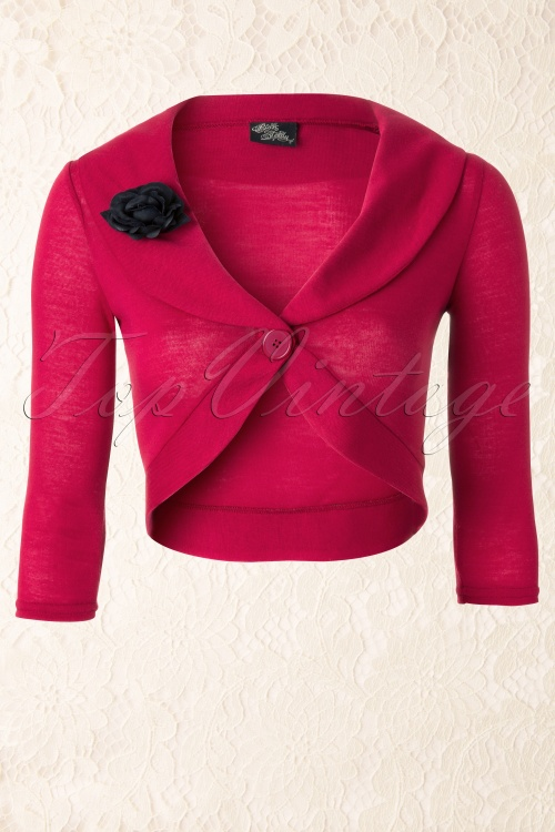 Steady Clothing  Rose Marilyn Bolero Red 141 20 12071 20140106 0003W