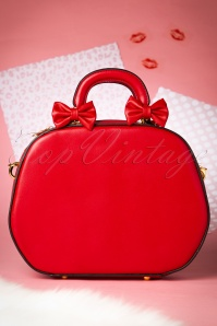 40s Lucille Bag in Lipstick Red
