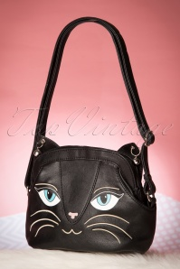 Banned Cat Bag in black 212 10 17041 10282015 08W