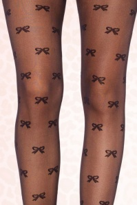 Rouge Royale Spandex Vintage Bow Pantyhose 171 14 17397 30102015 01C