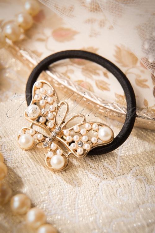 Lola Pearl Butterfly Hair Tie 209 14 17421 20151104 0010W
