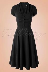 Bunny Rosina Burgundy Swing Dress Black 102 10 16736 20151106 0005W