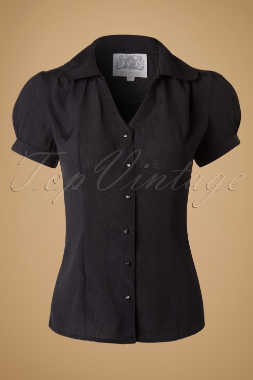 Fever Judy Black Blouse 112 10 17471 20151110 0004W