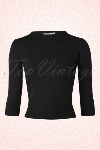 Tatyana 50s Madmen Black Top 113 40 14161 20151104 107W
