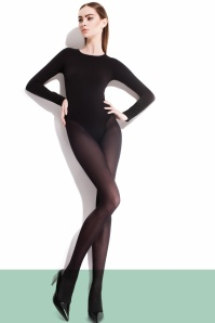 Fiorella Paula Classic Tights in Black