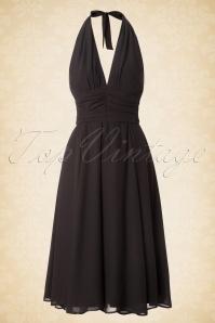 Bunny Monroe Dress in Black 102 10 16766 20151021 0001W