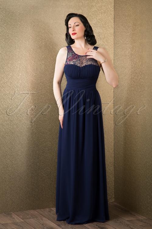 Womens Little Mistress Pearl Detail Maxi Dress Simply Be