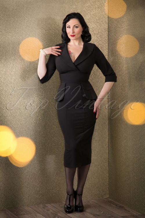 Stop Staring Benoite Black Dress 16691 11052015 013W