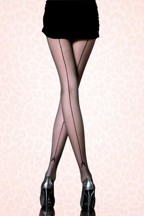 Fiorella Black Miriam Tights 171 10 15974A
