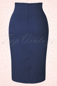 Dolly Do Falda Pencil Skirt Navy Blue 120 20 17430 20151120 0002W