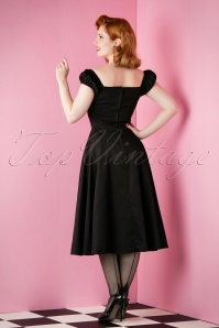 Collectif Clothing  Dolores Doll Dress Black 102 20 12755 20151118 009W