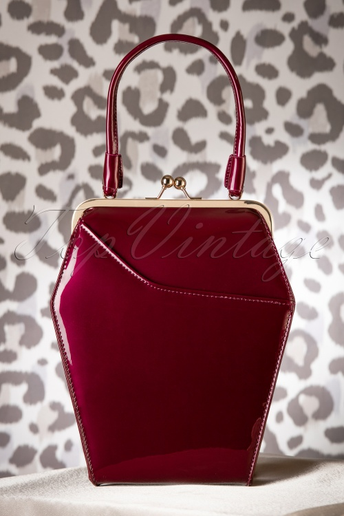 Tatyana To Die for Handbag Burgundy 212 20 17587 11232015 010W