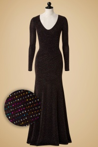 Vintage Chic Glitter Blackless Glamorous Dress  108 10 17566 20151124 0008pop