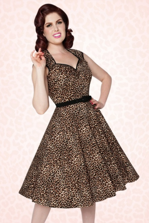 16346832b2932 Pinup Couture Heidi Leopard Swing Dress 102 79 17490 5