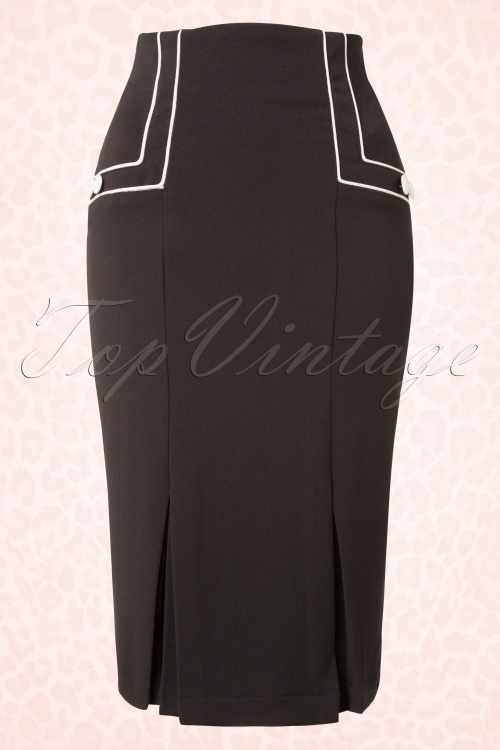 Bunny Savannah Pencil Black Skirt 120 10 16738 20151125 0004W