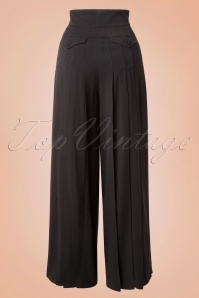 Miss Candyfloss Black Loose Trousers 131 10 16253 20151130 0006W