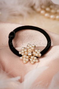 20s Pearl Flower in Your Hair Band