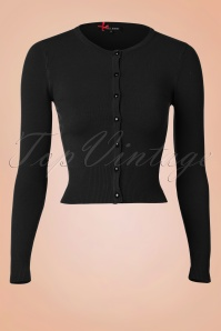 50s Paloma Cardigan in Black