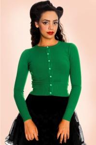 Bunny 50s Paloma Green Short Cardigan 140 40 17634 1