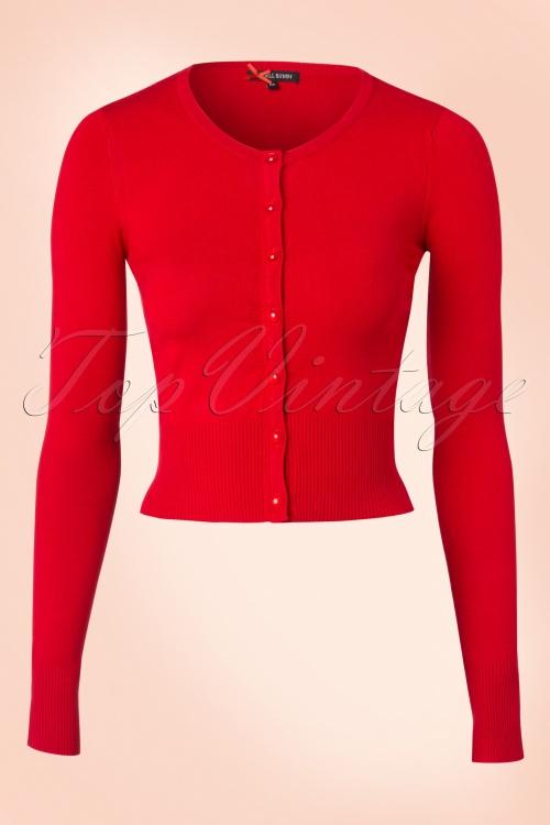Bunny Red Basic Cardigan 140 20 11551 20151203 0005W