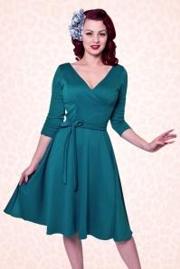 Heart of Haute Donna Bow Longsleeve Swing Dress 102 20 17017 1