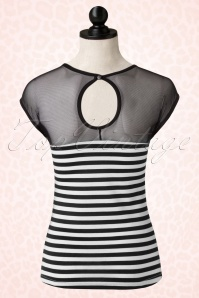 Rock Steady Clothing Striped Delinquent Mesh Top 110 27 17064 20151210 0008pop