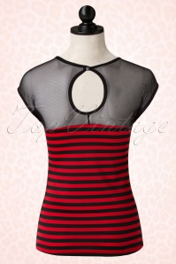 Rock Steady Clothing Striped Delinquent Mesh Top 110 27 17063 20151210 0003pop