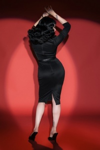 Pinup Couture  Misfits Pencil Dress by Deadly Dames 100 10 17744 7