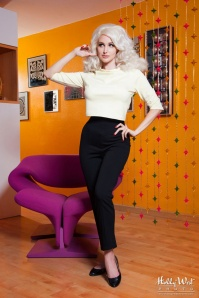 Pinup Couture  California Jane Creme White Crop Top 113 50 17781 20151218 0003M5