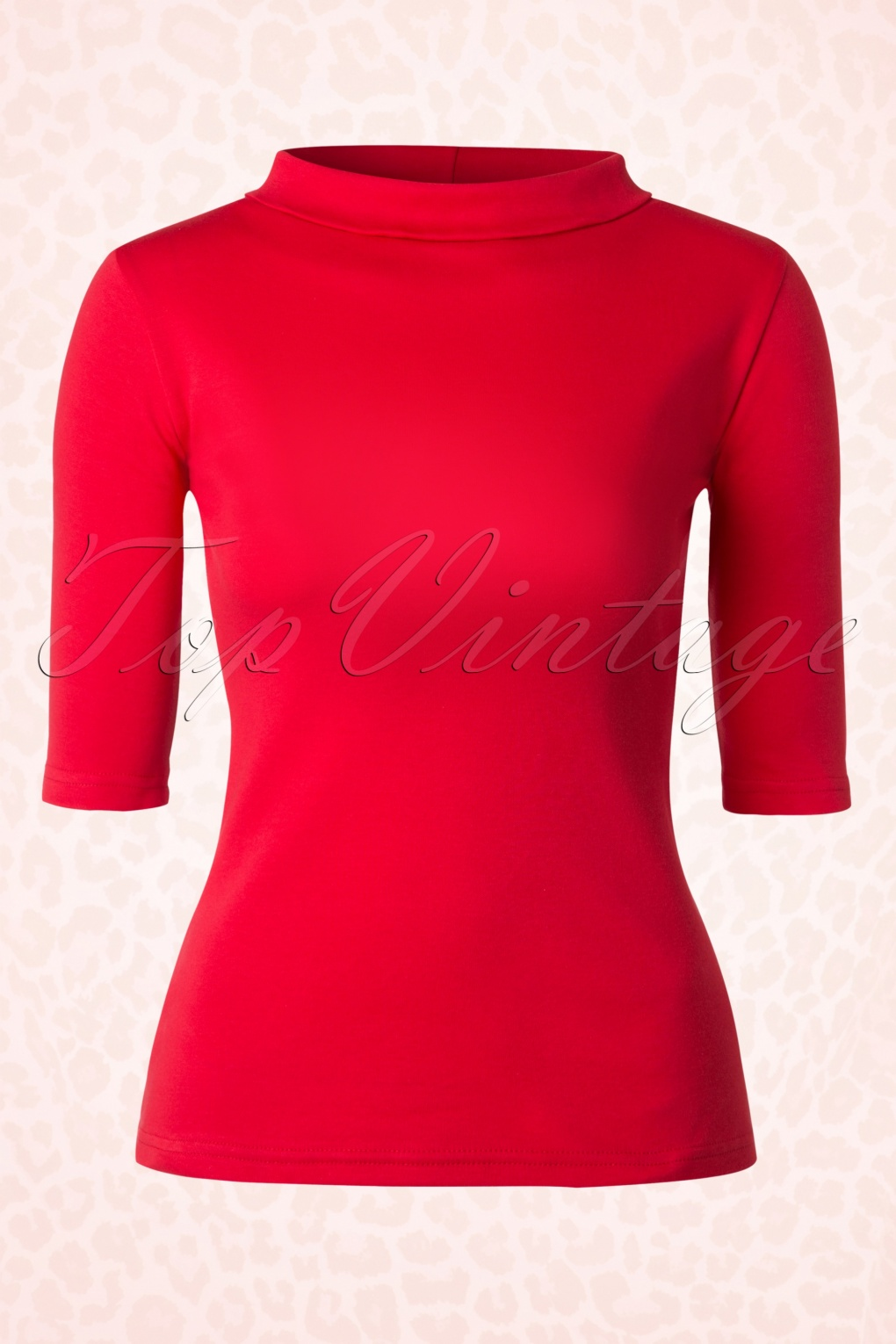 1960s -1970s Blouses, Shirts and Tops 60s Spy Top in Red £54.10 AT vintagedancer.com