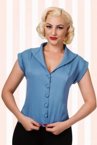 Banned Misty Blue Dream Blouse 112 30 17846 20160118 1